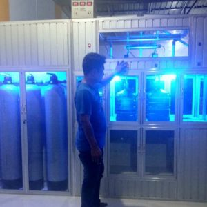 Pemasangan Depot Air Minum Isi Ulang