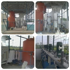 WTP (Water Treatment Plant) with Lamella Clarifier